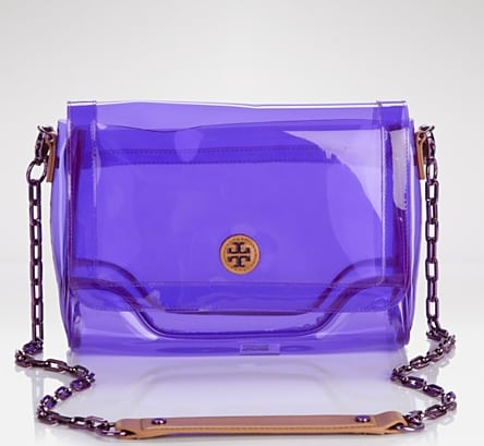 This is a pretty awesome version of Spring's PVC-infused obsession: a see-through purple crossbody bag is sure to catch the attention of many. Tory Burch Jesse Crossbody in Orchid Purple ($195)