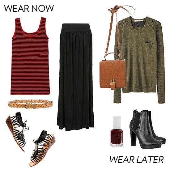 Five sweet now-and-later styling methods (and 10 awesome outfits) to master the tricky change of seasons.