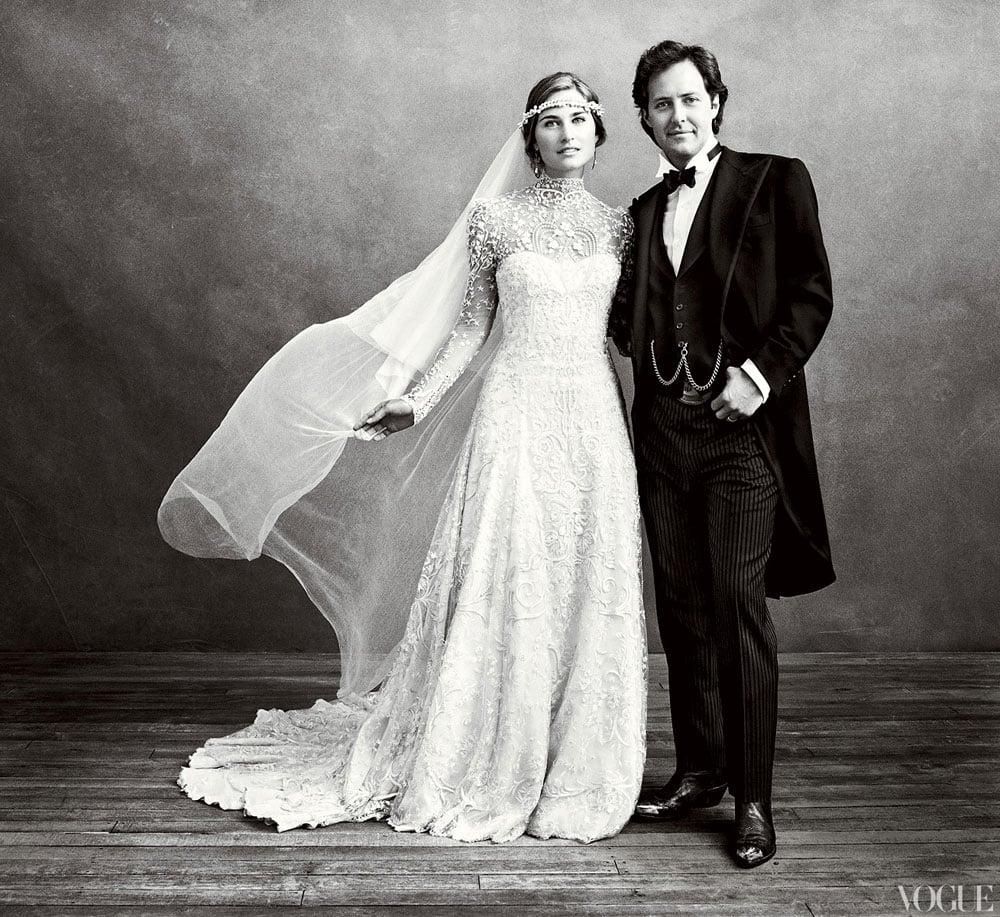 David Lauren and Lauren Bush shared pictures of their September 2011 ceremony in Vogue.