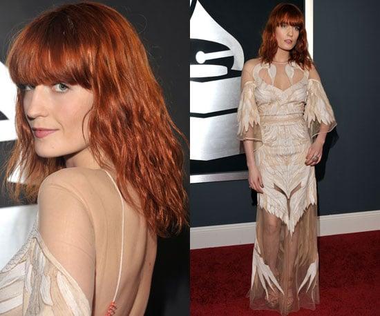 Florence Welch Grammys 2011