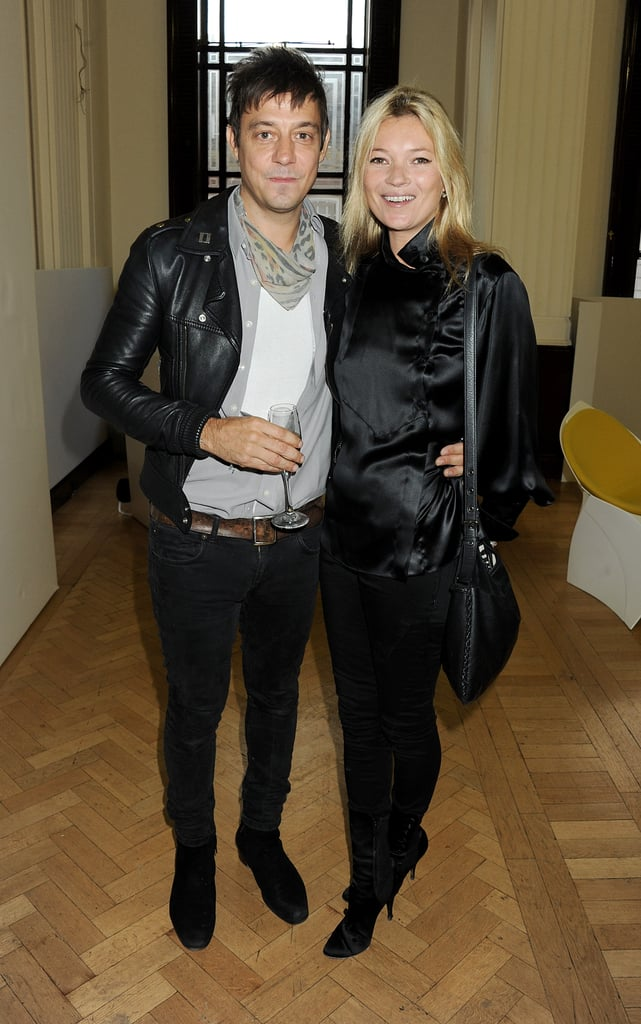 Kate Moss and Jamie Hince at London Fashion Week