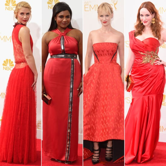 Is Red the New Black? These Emmys Looks Say So!