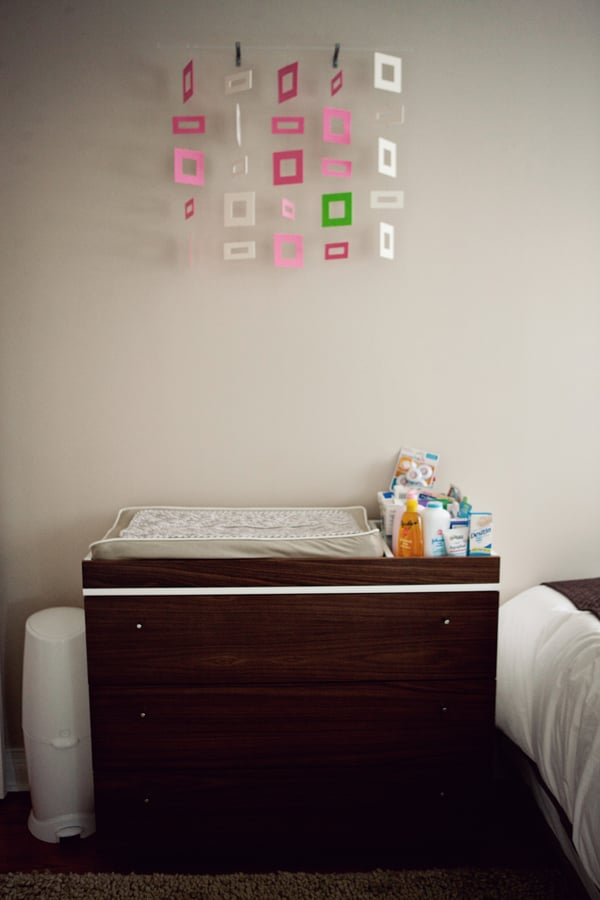 Changing Table and Mobile