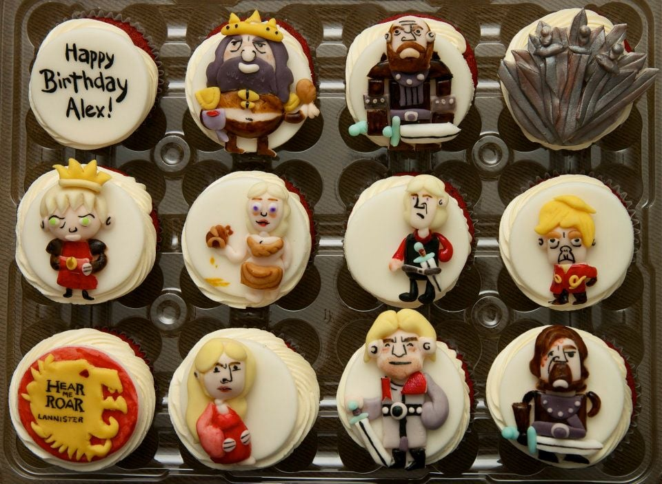 House Lannister Cupcakes