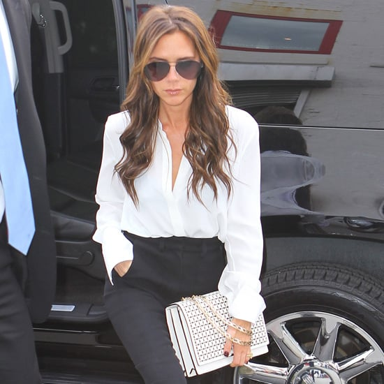 Victoria Beckham White Chain Bag