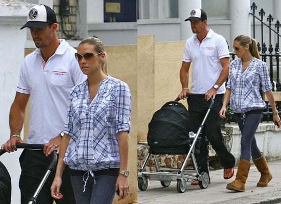 Pictures of Kevin Pietersen and Jessica Taylor New Baby Boy Dylan First Pictures