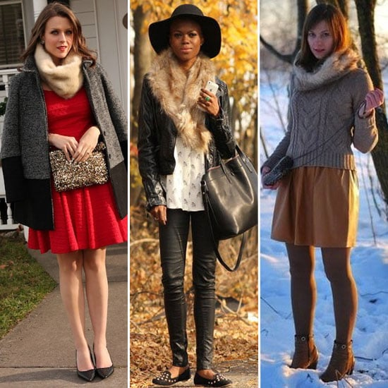How to Wear a Fur Collar | Winter 2013