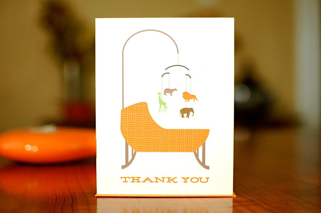 Bassinet Thank You Cards