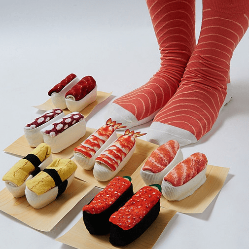 These Sushi Socks Are Mouth Watering