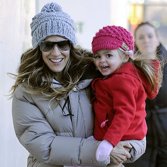 Sarah Jessica Parker Taking Her Kids to School in NYC