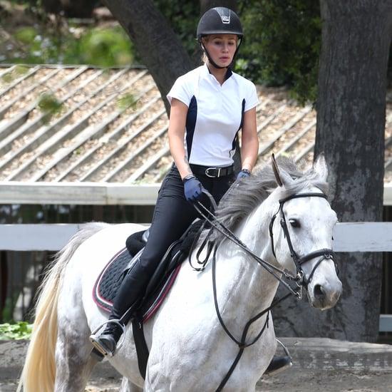 Iggy Azalea Riding Horses in LA March 2016
