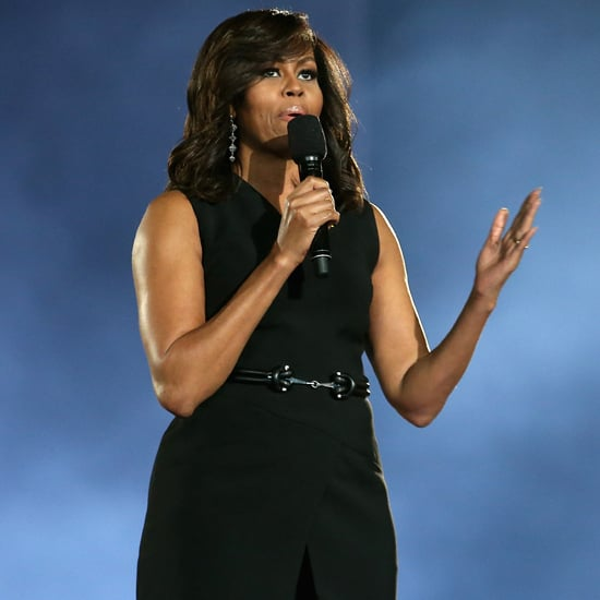 Michelle Obama Black Suit at Invictus Games 2016