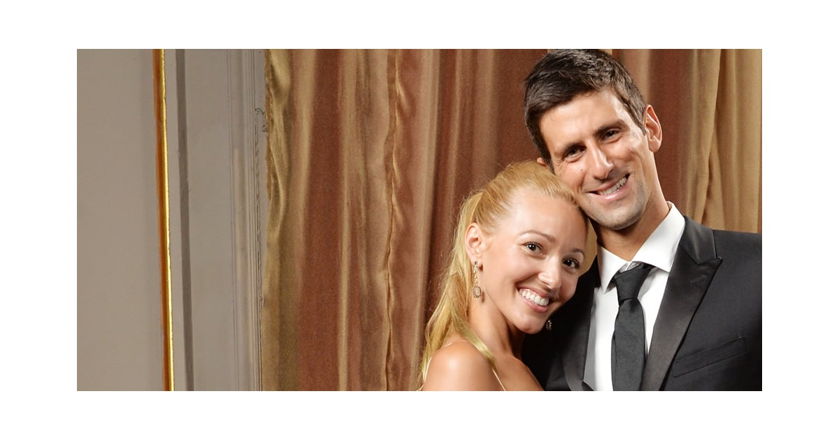 how did jelena ristic and novak djokovic meet joe
