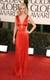 January Jones in Versace