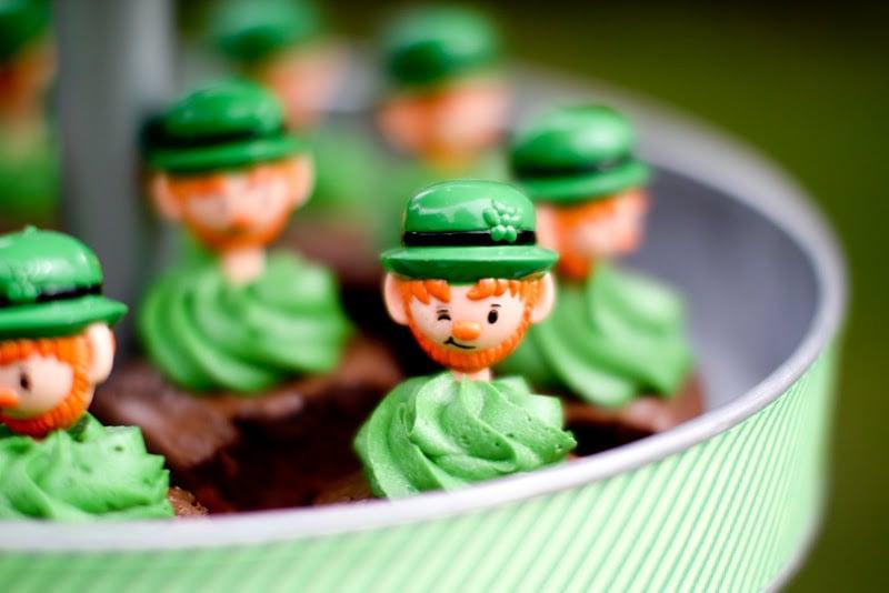 Leprechaun Brownies