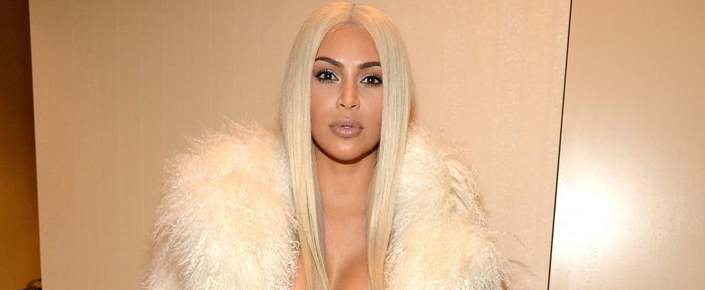 Kim Kardashian Has an Unexpected Movie Night With Courteney Cox and Sacha Baron Cohen