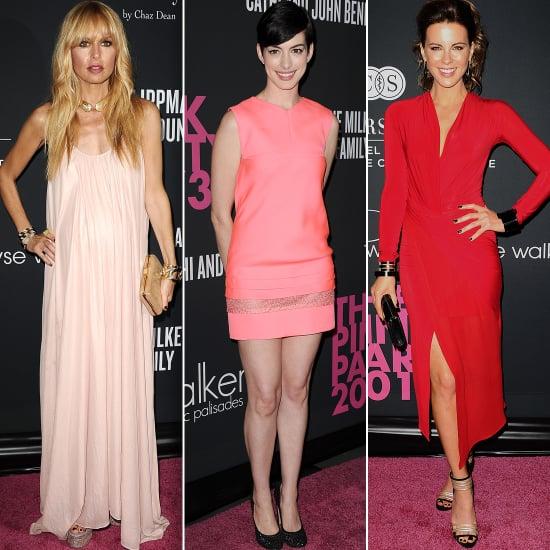 Elyse Walker Pink Party 2013 Red Carpet