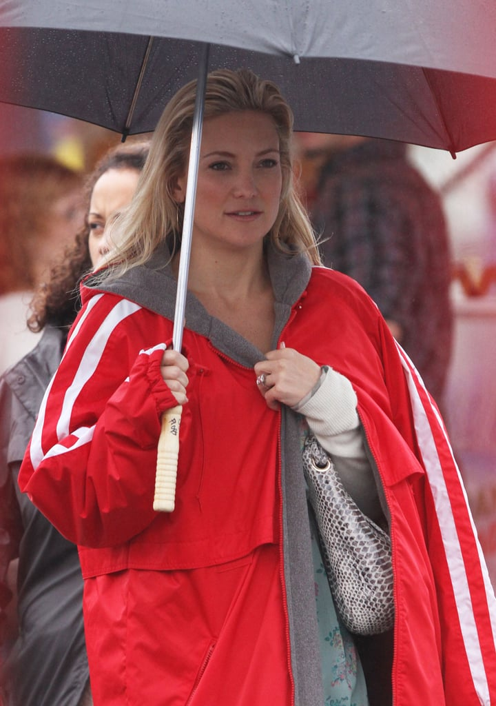 Kate Hudson was on the Clear History set.