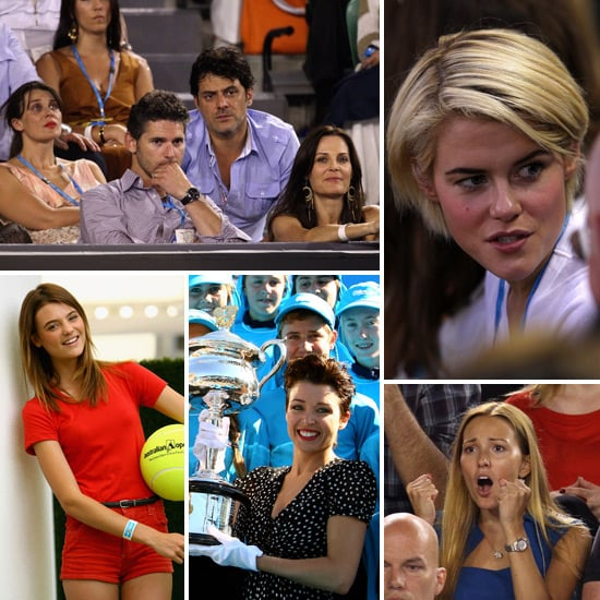See the Celebrities Taking in the Tennis at the Australian Open