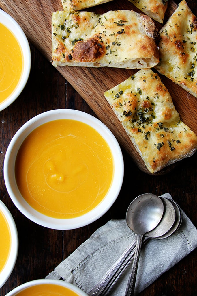 30-Minute Butternut Squash and Cider Soup