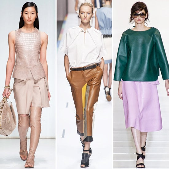 Spring 2013 Fashion Trend: Leather