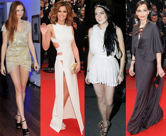 Pictures of Cheryl Cole, Lindsay Lohan, Lily Cole, Gerard Butler, Kristin Scott-Thomas at Cannes Film Festival 2010