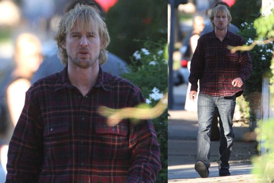 Owen Wilson Channels His Inner Hot Lumberjack