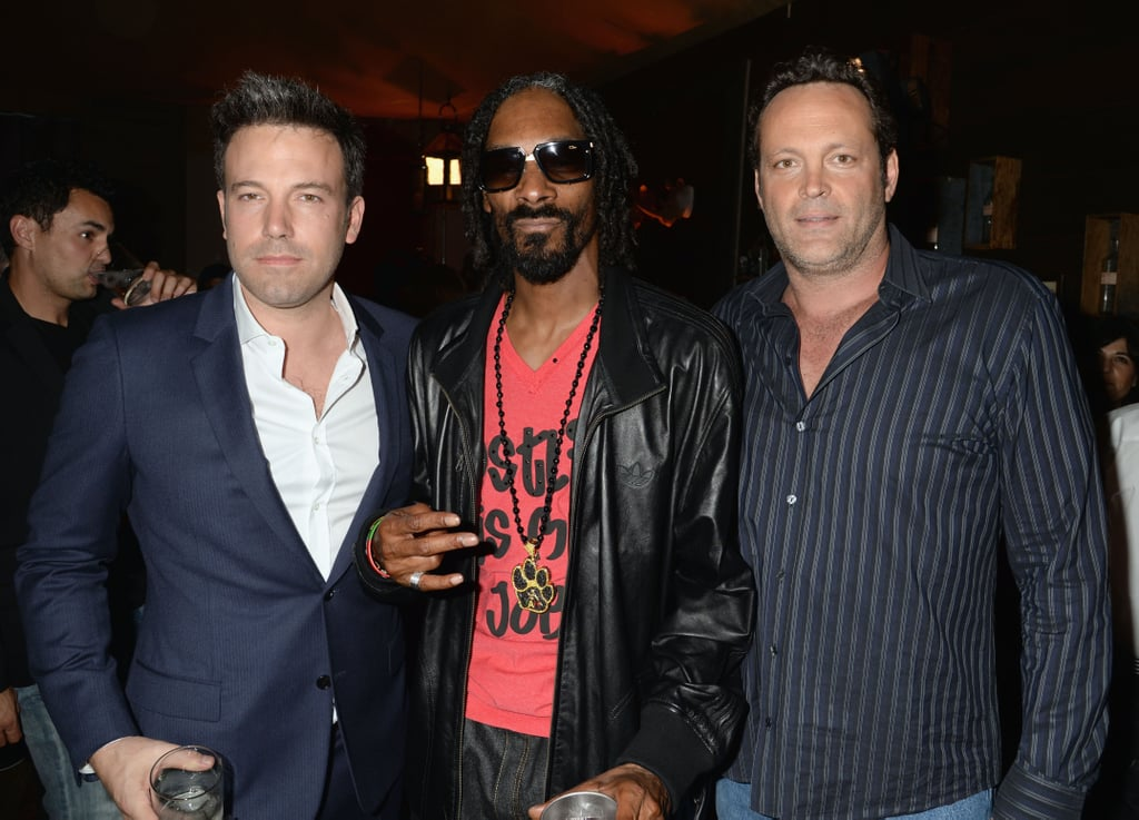 Ben Affleck Celebrates His Guy of the Year Status With Snoop Dogg