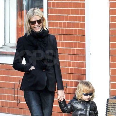 Gwyneth Paltrow and Moses Martin Out in London