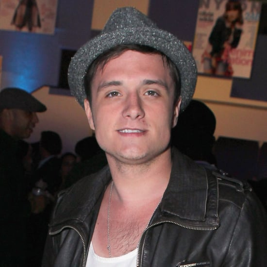 Josh Hutcherson and Freida Pinto at Nylon Party Pictures
