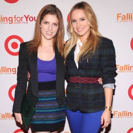 Kristen Bell and Anna Kendrick at Target Party   Pictures