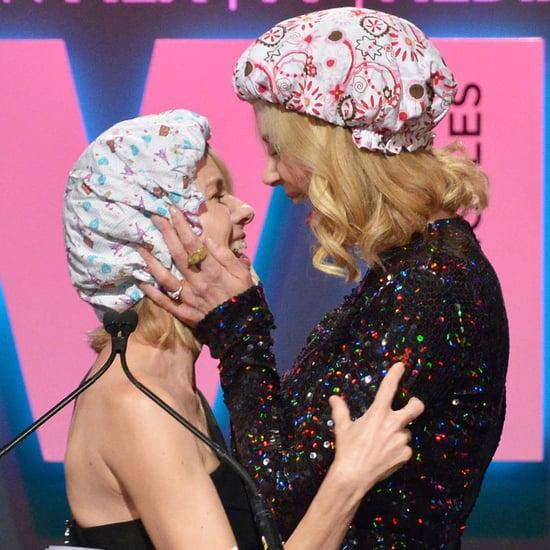 Naomi Watts and Nicole Kidman Kissing Pictures