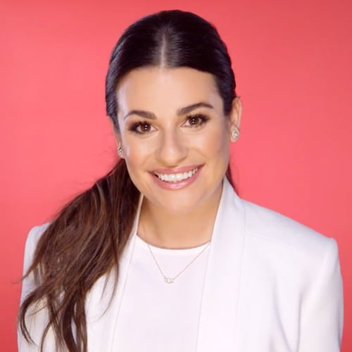 Lea Michele's 2016 New Year's Resolutions