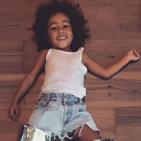 North West Pictures Instagram North West Tryi...