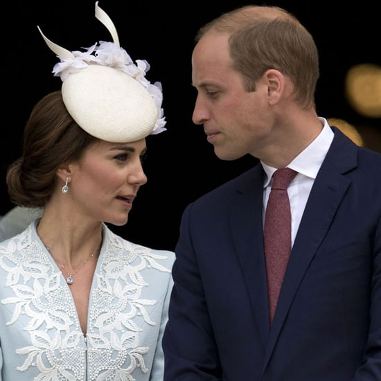 Kate Middleton and Prince William Whispering