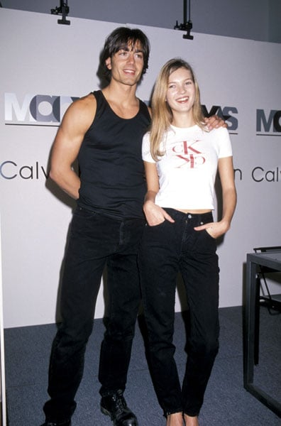 1994: Calvin Klein appearance with Michael Bergin