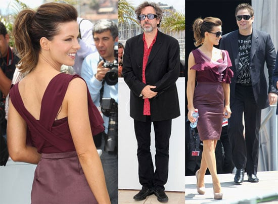 Pictures of Cate Blanchett, Russell Crowe, Kate Beckinsale, Benicio Del Toro, and Tim Burton at the 2010 Cannes Film Festival 2010-05-12 09:15:00