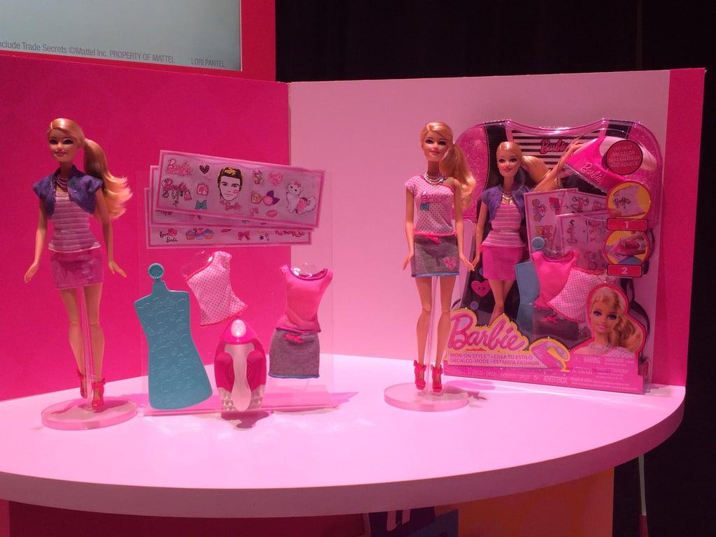 Barbie Iron-On Style