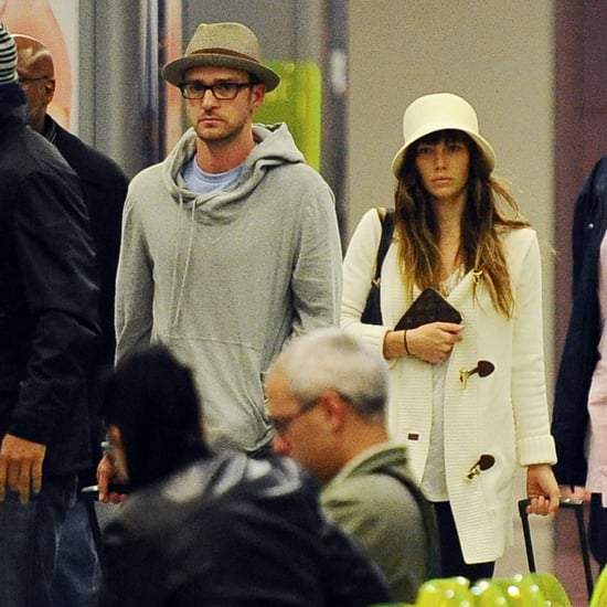 First Pictures of Married Justin Timberlake and Jessica Biel