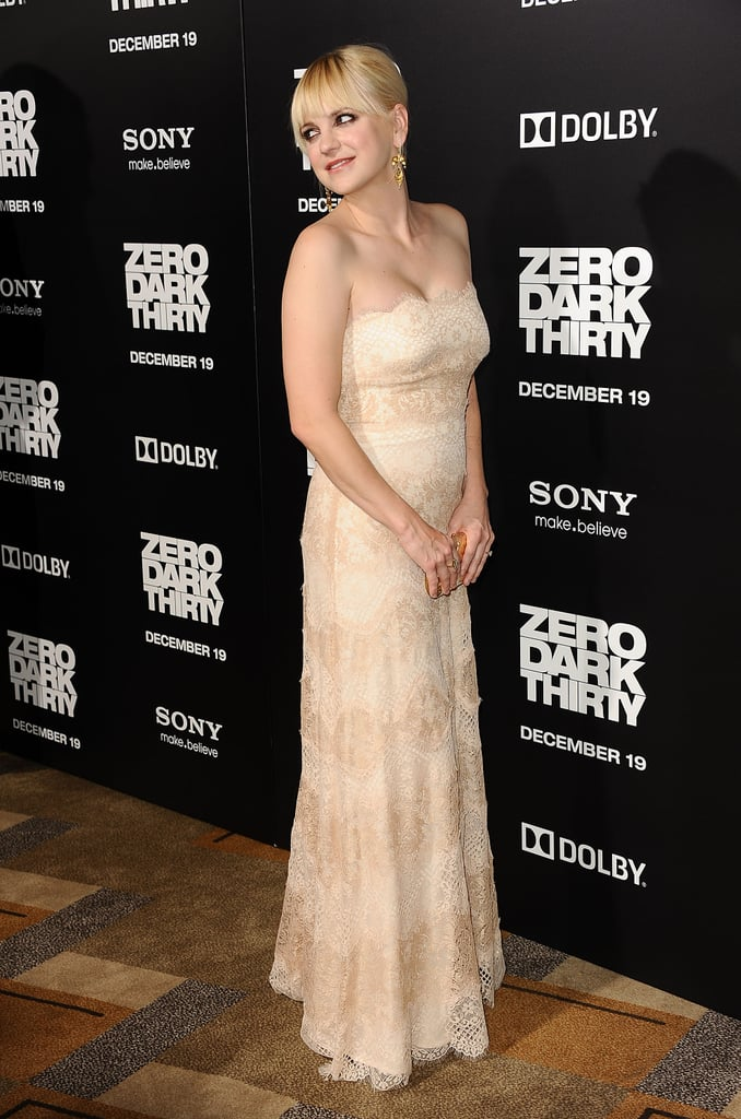 Jessica Chastain Joins New Parents Chris and Anna at Zero Dark Thirty's Premiere