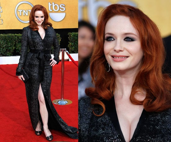 Christina Hendricks in L'Wren Scott at 2011 SAG Awards 2011-01-30 17:53:44