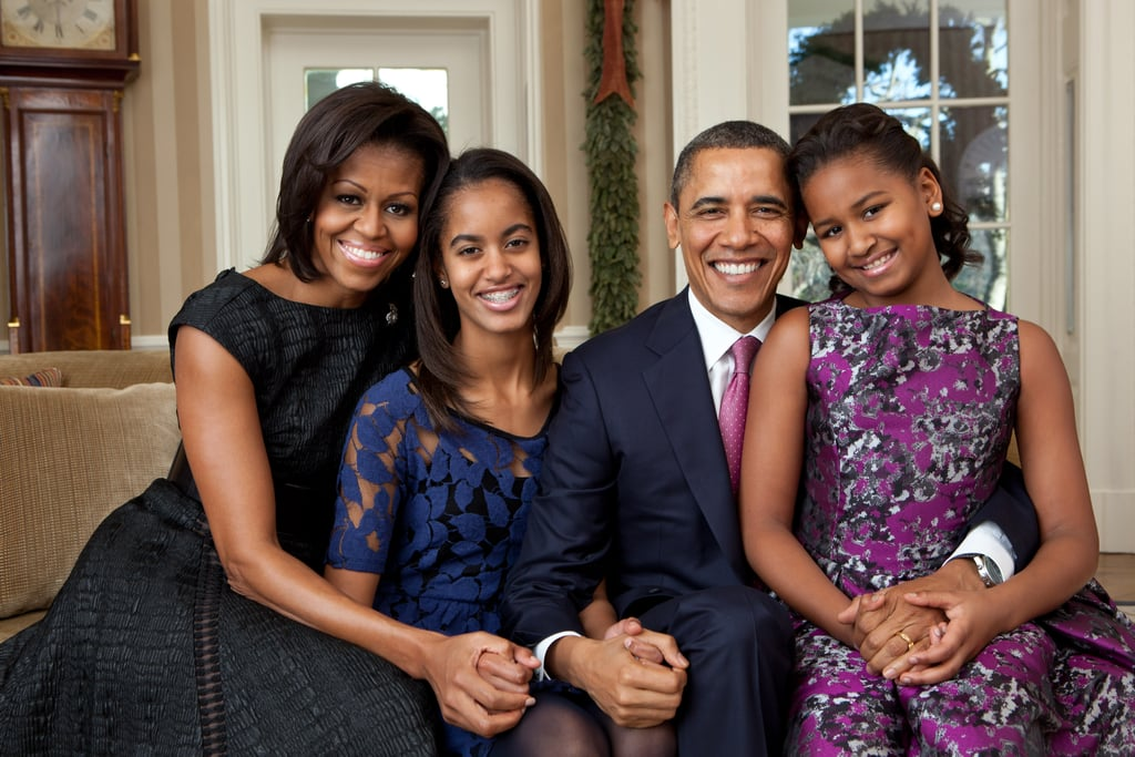The Obama Family Holiday Portrait, December 2011