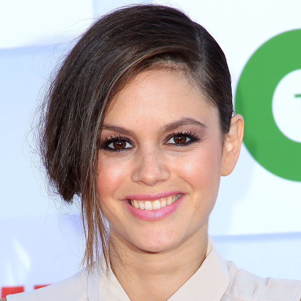 Rachel Bilson's signature waves were nowhere to be seen at the TCA Summer Party this week, but we loved her deep side part. Use the end of a fine-toothed comb to get a precise part in the hairline, like Models Prefer Smooth and Detangle Plastic Tail Comb ($3.99).