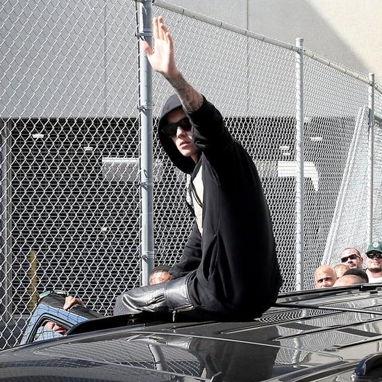 Justin Bieber Leaving Jail in Miami