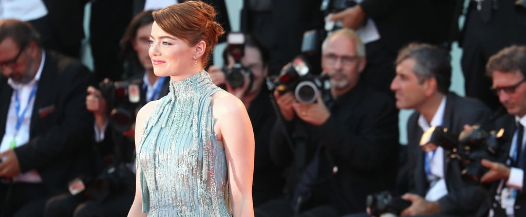 Emma Stone Just Brought the Little Mermaid to Life in This Versace Dress