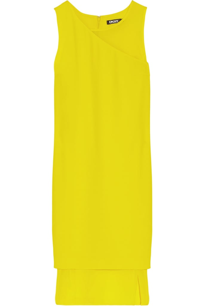 DKNY Yellow Dress
