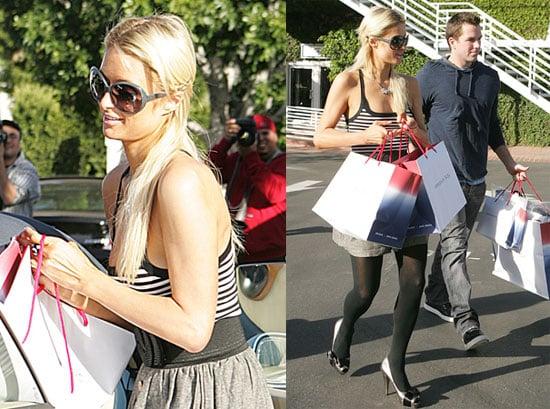 Photos of Paris Hilton and Doug Reinhardt Shopping Together in LA 2009-11-28 06:00:00