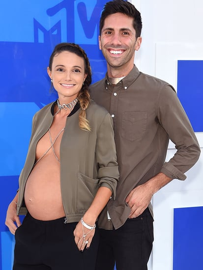 WATCH: Catfish's Nev Schulman on Fiancée's Bare Baby Belly on MTV VMAs Red Carpet: She's 'Killing It'