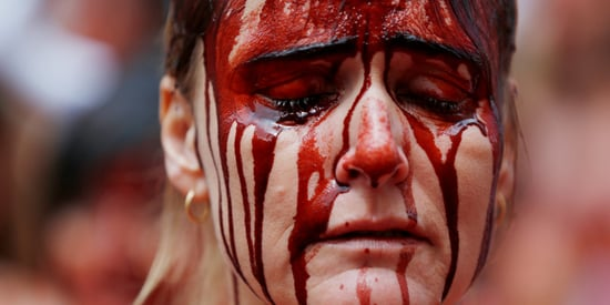 Animal Rights Activists Make Bold Statement In Pamplona Ahead of Annual Festival