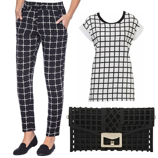 Chain Store Steals: Window Pane Prints